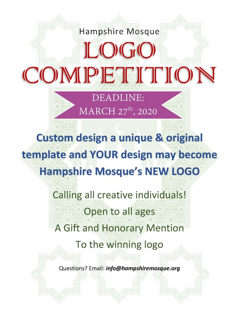 Hampshire Mosque Logo Competition- Postponed